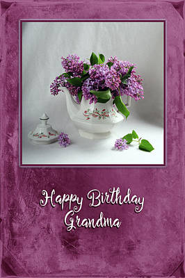 Photograph - Grandma's Birthday by Randi Grace Nilsberg