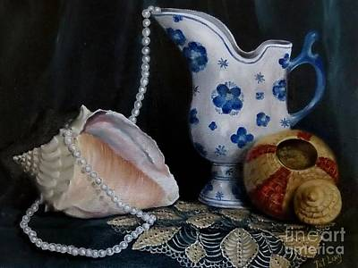 Painting - Grandma's Collection by Patricia Lang