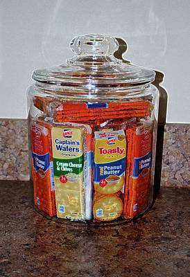 Photograph - Grandma's Cracker Jar by Cynthia Guinn