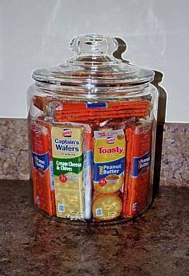 Grandma's Cracker Jar Art Print