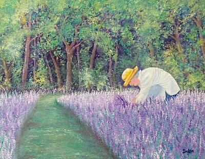 Art Print featuring the painting Grandma's Favorite Scent by Susan DeLain