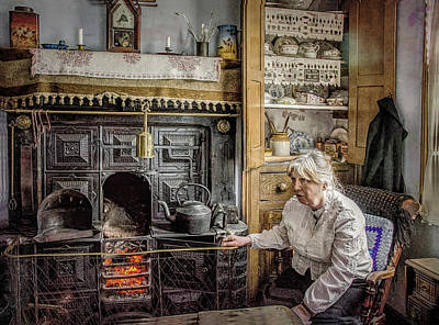 Photograph - Grandma's Grate by Brian Tarr