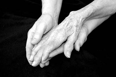 Grandma's Hands... Original by Lisa Elizabeth