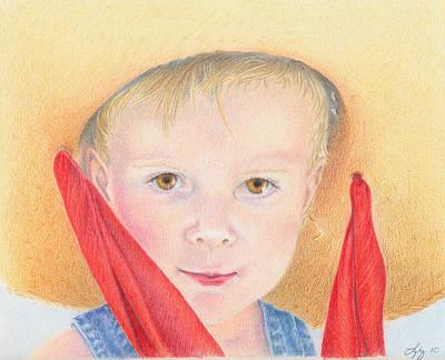 Painting - Grandma's Hat by Elizabeth Dobbs