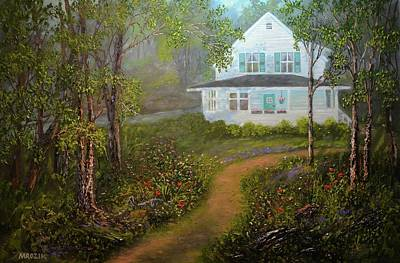 Landscapes Painting - Grandma's House by Michael Mrozik