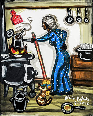 Photograph - Grandma's Kitchen by Andy Crawford