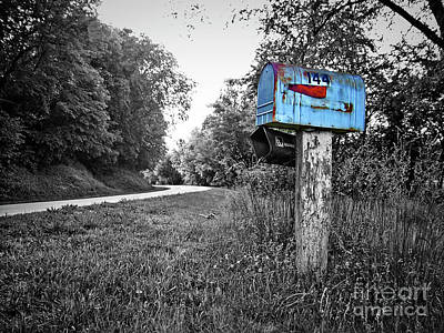 Photograph - Grandma's Mailbox by Jenness Asby