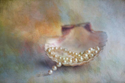 Photograph - Grandmas Pearls by Jai Johnson