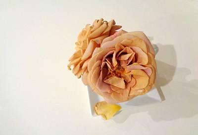 Photograph - Grandmas Roses - 2 by VIVA Anderson
