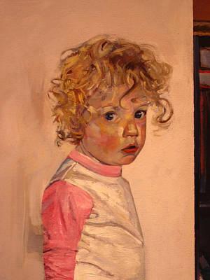 Painting - Grandma's Shoe Detail by Tim  Heimdal