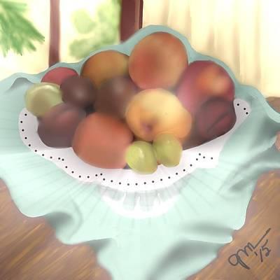 Grandma's Table Art Print