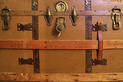 Photograph - Grandma's Trunk 3 by Mary Bedy
