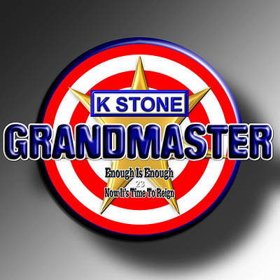Wall Art - Digital Art - Grandmaster by K STONE UK Music Producer