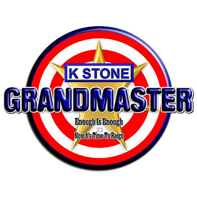 Wall Art - Digital Art - Grandmaster Version 2 by K STONE UK Music Producer