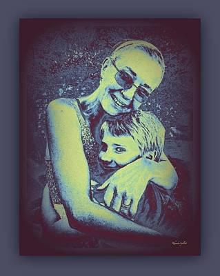 Mixed Media - Grandmother Love by YoMamaBird Rhonda