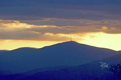 Photograph - Grandmother Mountain Sunset by Meta Gatschenberger