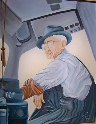 Grandpa Albee Art Print by Tammera Malicki-Wong