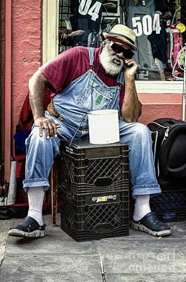 Photograph - Grandpa Elliott - Nola by Kathleen K Parker