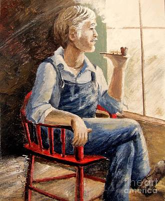Painting - Grandpa by Marilyn Smith