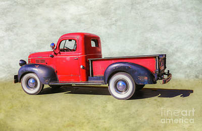Digital Art - Grandpa's Dodge Truck by Randy Steele
