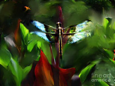 Digital Art - Grandpa's Dragon by Lisa Redfern