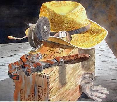 Painting - Grandpa's Era by Tony Caviston
