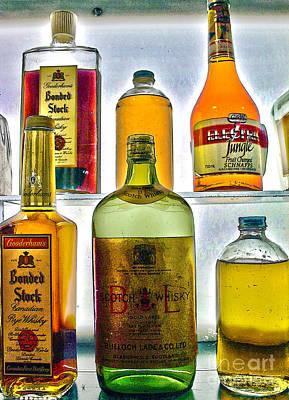 Photograph - Grandpa's Medicine Cabinet by Nina Silver