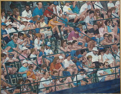 Painting - Grandstand Mosaic by James Sparks