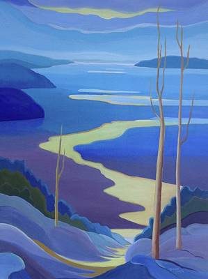 Painting - Grandview by Barbel Smith