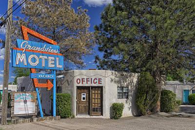 Photograph - Grandview Motel Route 66 Near Albuquerque Nm Dsc02959 by Greg Kluempers