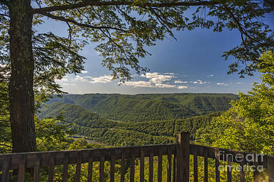 Photograph - Grandview Park At Turkey Spur Overlook by Dan Friend
