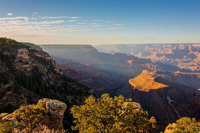 Sunburst Photograph - Grandview Sunset - Grand Canyon National Park - Arizona by Brian Harig
