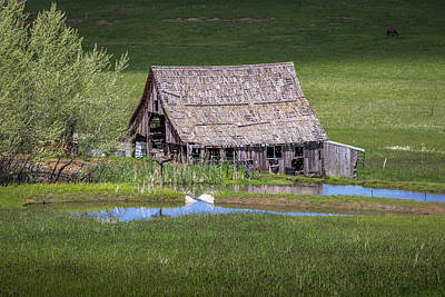 Photograph - Grangeville Barn by Brad Stinson