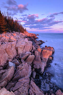 Granite Coastline Art Print