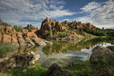 Photograph - Granite Dells by Sue Cullumber