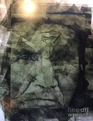 Painting - Granite Faces Of Men And Mountains by FeatherStone Studio Julie A Miller