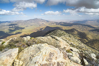 Photograph - Granite Mountain - Summit View by Alexander Kunz