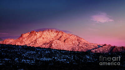 Photograph - Granite Mountain Sunrise by Scott Kemper