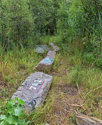 Photograph - Granite Pathway by Brian MacLean