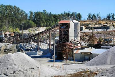 Photograph - Granite Quarry 1 by Kathryn Meyer