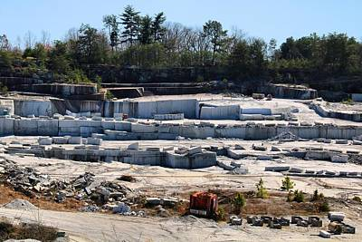Photograph - Granite Quarry 2 by Kathryn Meyer