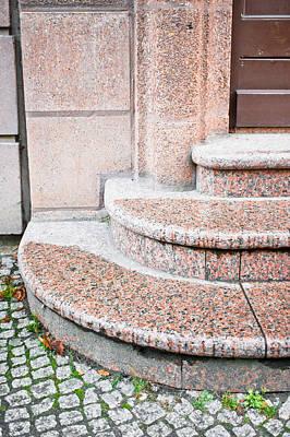 Granite Steps Art Print