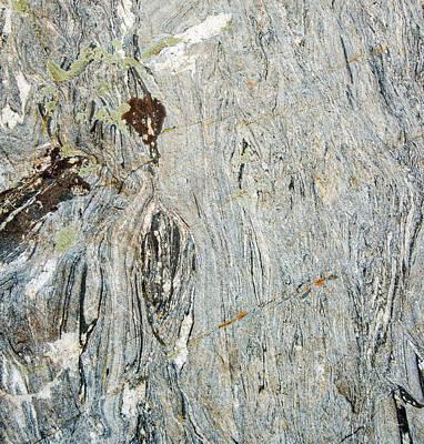 Photograph - Granite Texture by Leland D Howard