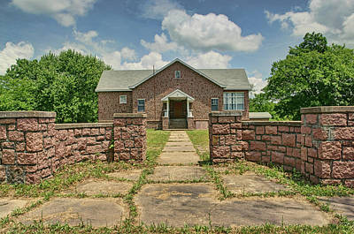 Photograph - Graniteville Community Building - Missouri by Nikolyn McDonald