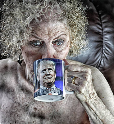 Portrait Photograph - Grannies For Trump by Jacob Smith