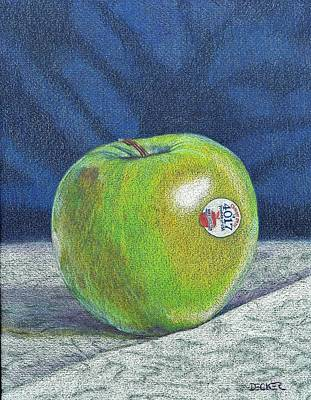Painting - Granny Smith by Robert Decker