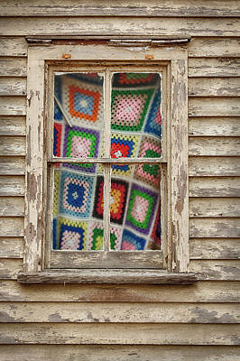 Photograph - Granny Squares by Denise Bush