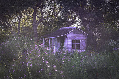 Photograph - Granny's House In The Garden by Leticia Latocki