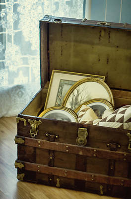Photograph - Granny's Trunk by Eleanor Caputo
