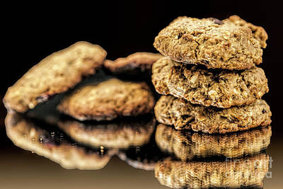 Photograph - Granola Cookies by Shirley Mangini